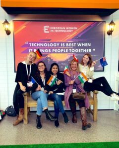 DAVID Women at the European Women in Tech conference 2019